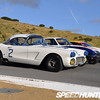 "2010's 24 hours of Le Mans marked the 50th Anniversary of Corvette's first participation at the legendary race. As part of the celebrations, Corvette Racing assembled a number of historic Corvettes at that year's American Le Mans Series round at Laguna Seca. (Source: <a href=""http://www.speedhunters.com/2010/06/car_feature_gt_the_corvette_legends_of_le_mans/"">http://www.speedhunters.com/2010/06/car_feature_gt_the_corvette_legends_of_le_mans/</a>)"