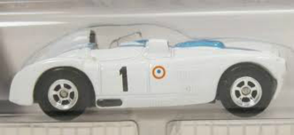 Hot Wheels Hall Of Fame Briggs Cunningham C6R White RRM