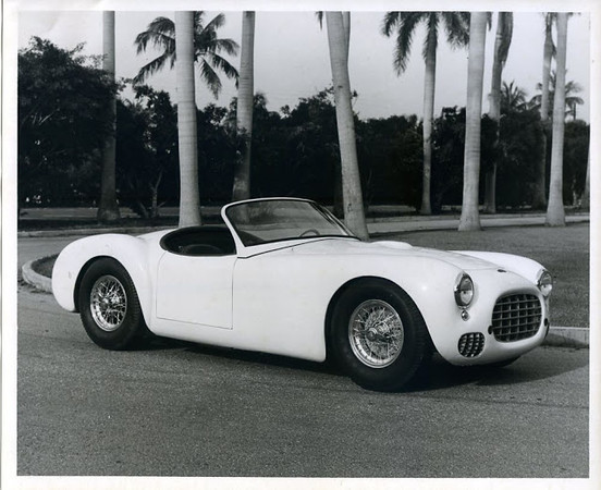 "It's a good-looking car; muscular, sporty and aggressive. A striking design for it's time.<br /> And also very similar to another car... the 1949 Ferrari 166 MM Touring Barchetta. (Source: <a href=""http://deadlycurves.blogspot.com/2013/04/briggs-cunningham-artist-or-gifted.html"">http://deadlycurves.blogspot.com/2013/04/briggs-cunningham-artist-or-gifted.html</a>)"
