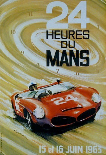 "24h Hours of Le Mans, June 15/16 1963 (Source: <a href=""http://classic-cars-talks.blogspot.com/2011/09/24h-hours-of-le-mans-june-1516-1963.html"">http://classic-cars-talks.blogspot.com/2011/09/24h-hours-of-le-mans-june-1516-1963.html</a>)"