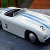 "Restored Cunningham C.5.R from the 1953 Le Mans 24 hours where it finished 2nd driven by John Fitch and Phil Walters. Model by DINKY. Credit: <a href=""http://server17.dedicateduk.com/~bruce/cgi-bin/diecasts.html"">http://server17.dedicateduk.com/~bruce/cgi-bin/diecasts.html</a>."