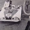 "Briggs Cunningham's Cadillac C-1 a.k.a. Le Monstre in the pits at Le Mans (1950) (Source: <a href=""http://uncommonplacebook.blogspot.com"">http://uncommonplacebook.blogspot.com</a>)"