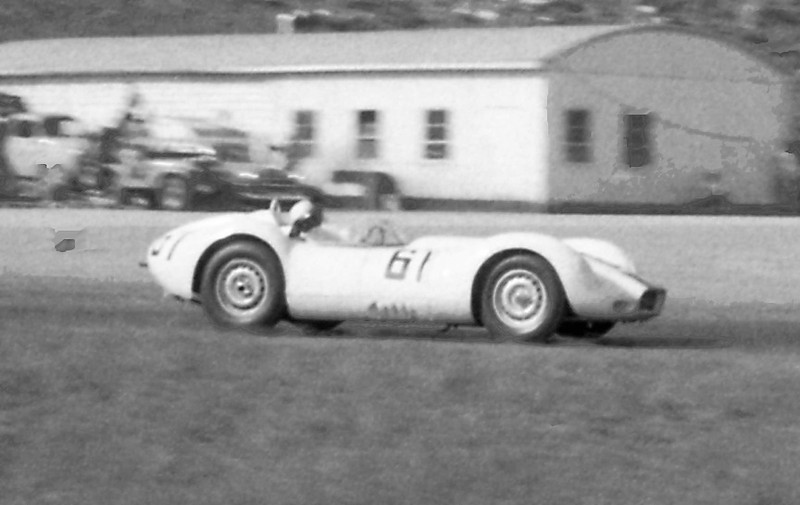 Lister Jaguar BHL 102 @ Cumberland - 1959. Photo credit: Colin Comer