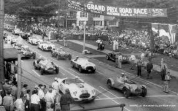 Grand Prix Road Race in Watkins Glen, NY