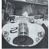 One of the Cunningham coupes at Le Mans