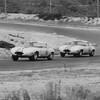 Bridgehampton Double 500 Grand Touring, Sag Harbor, 1963. Walter Hansgen,  Briggs Cunningham (Photo credit: Albert R. Bochroch Photograph Collection, Revs Institute)