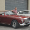 #9  Cunningham C-3 with proud owner in front of factory on Elizabeth St. in West Palm Beach, Fl