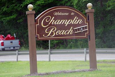 Champlin Beach:  Home of the Curtiss Seaplane Base.