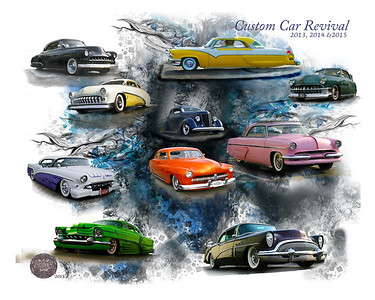 Custom Car Revival  16x20 Image  #50