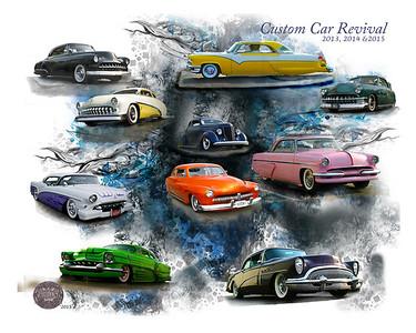 Custom Car Revival  16x20 Image  #50