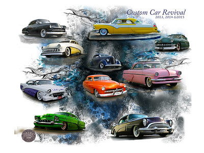 Custom Car Revival 30x40 Image  #48