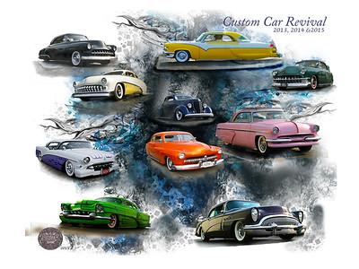 Custom Car Revival 30x40 Image  #48