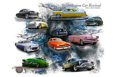 Custom Car Revival 24x36 Image  #49