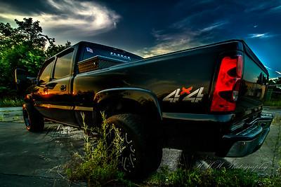 Custom truck shoot