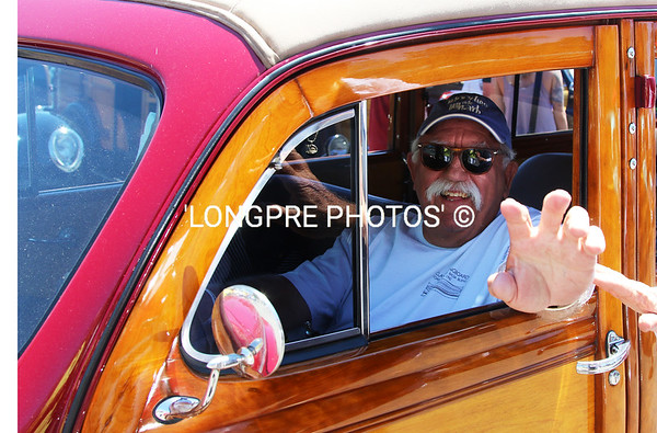JEFF BATES....one of my fellow yacht club sailor friends and Woodie owner.