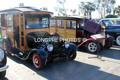 Several great Model T Woodies.