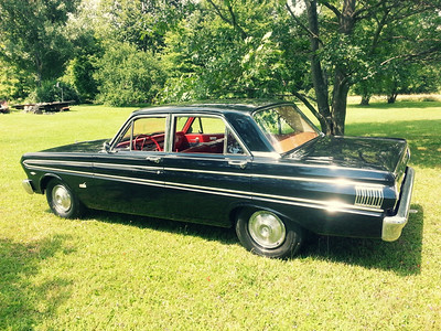 Dad's 1964 Ford Falcon