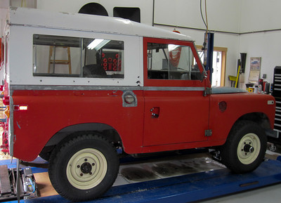 Dad's Land Rover