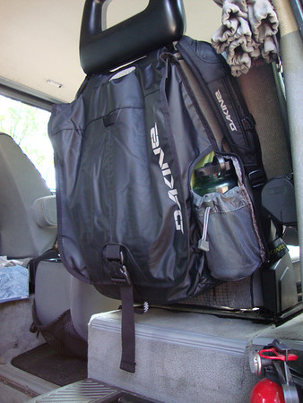 Dakine Dispatch Backpack/Seatback Organizer
