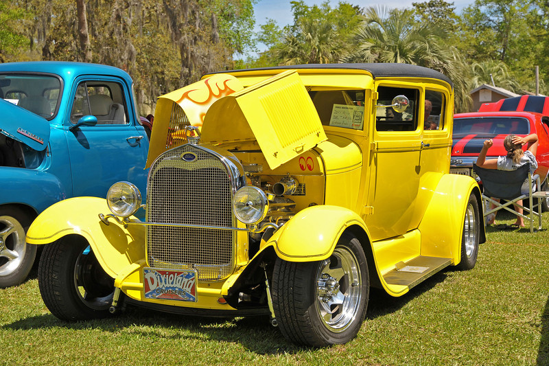 Darien Auto Show during the Darien, Georgia Annual Blessing of the Fleet - 04-13-13