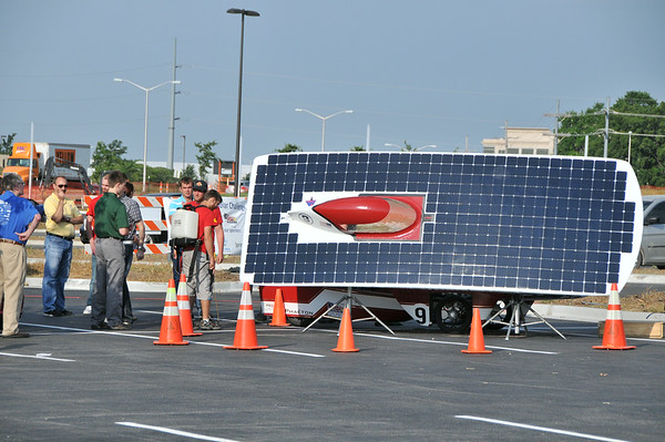 Day Two - American Solar Challenge - Solar Car Race 7.24.2014 - O.P.,Ks
