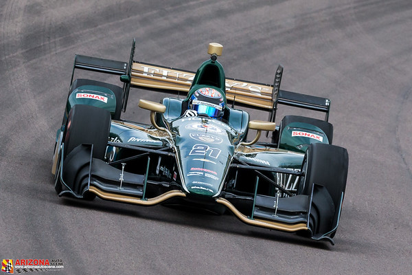 Day Two of IndyCar Testing at Phoenix Raceway