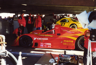 Daytona 24 Hours, 1998, Gianpiero Moretti and MOMO Corse Ferrari 333sp (winners)
