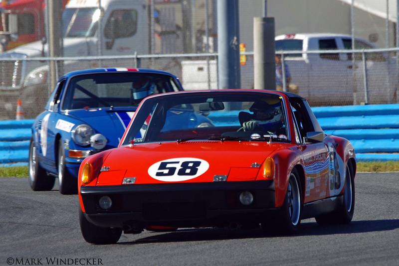 A-4  Thomas Gruber/Marco Seefried 72 Porsche 914/6 GT