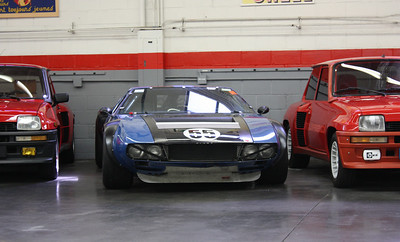 1970 De Tomaso Mangusta race car.