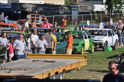 Demolition Derby Whiteside County Fair