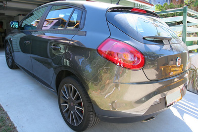 Before the wash - Fiat Ritmo detail 8-10-9