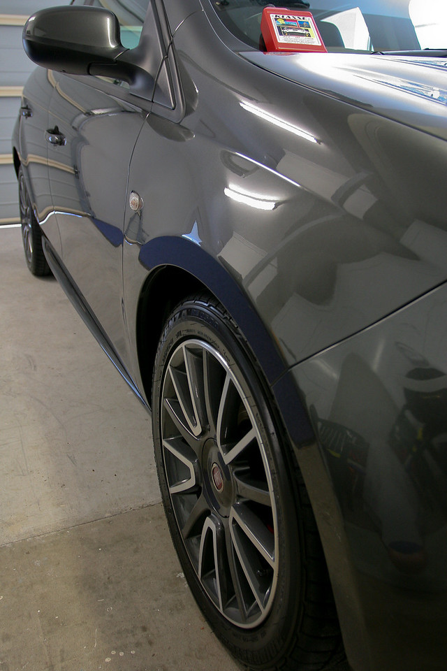 Just after application of Klasse All In One - Fiat Ritmo detail 8-10-9