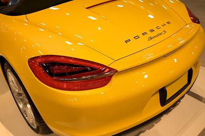 Porsche Boxster Yellow