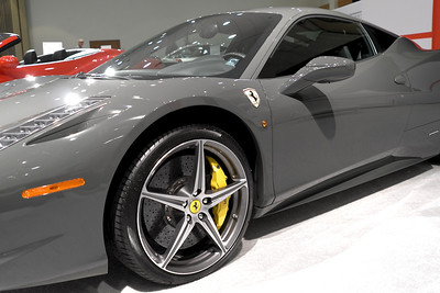 Ferrari Grey Yellow