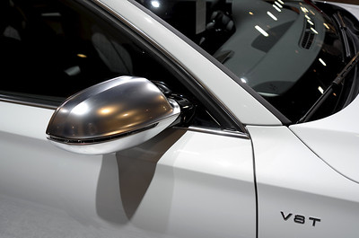 Audi White Silver