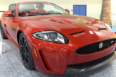 Jaguar Red Black