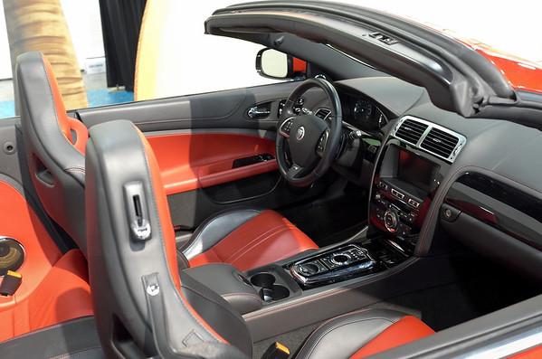Jaguar Duotone Interior