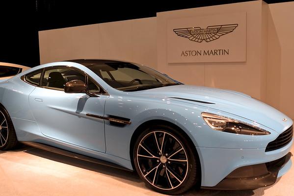 Aston Martin Blue