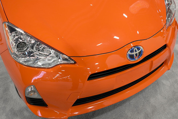 Toyota Orange Blue