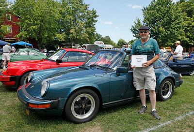 Best of the 1970s went to Jerry Broersma, of Grand Rapids for his petro blue 911SC Targa