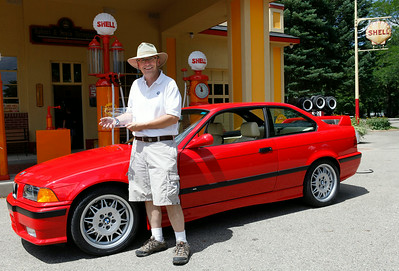 Andrew and Gail Baer of Middlebury, Indiana, took home the 2013 Best in Show BMW award for their 1993 BMW M3, a luxury package car with an automatic. (Brad Pines / DeutscheMarques Auto Group)