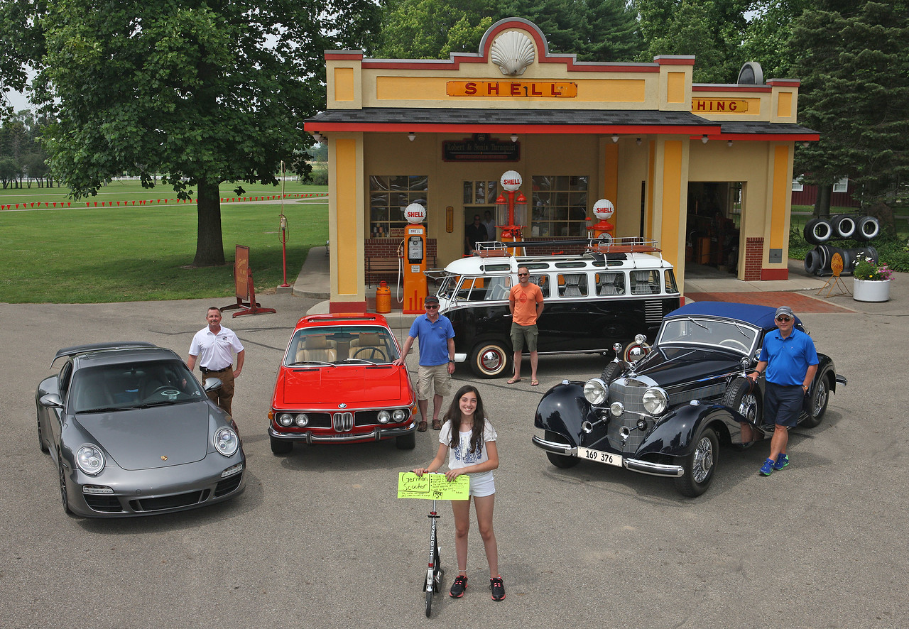 11July2015 Deutsche Marques car show at the Gilmore Car Museum.