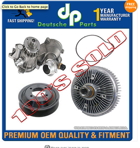 """Deutsche Parts sells this kit for:  """"BMW E65 E66 WATER PUMP ALUMINUM PULLEY GASKET FAN CLUTCH 745i Li 760i 760Li KIT"""" The picture clearly shows an OEM-style fan clutch.  I bought the kit for my 760Li."""