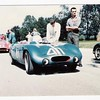 #87 HM in the background. Car in the foreground in un-identified.<br /> June Sprints at Elkhart Lake in '58 or '59.<br /> Photo from the H Mod Yahoo group.
