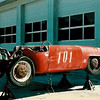 """From Mark:  """"I am trying to uncover the history of the car. The car was found in a warehouse near the Denver airport in the late 1980s and was purchased by Bob Pass of Passport Transport.""""<br /> <br /> Description and photo from <a href=""""http://www.tamsoldracecarsite.net/MarkBrinkerDevinPanhard.html"""">http://www.tamsoldracecarsite.net/MarkBrinkerDevinPanhard.html</a>"""