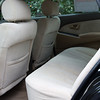 Comfortable seating front and back