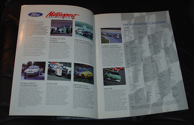 March 1994 Rally Sport Brochure pages 2 & 3