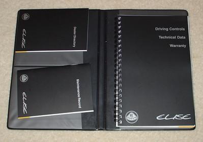 Elise Series 1 Owner's information