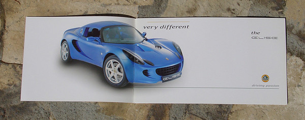 Elise Series 2 Official brochure