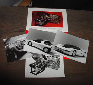 Peugeot Quasar - contents of Press Kit